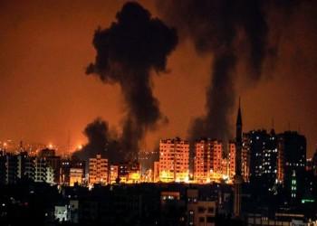 الاحتلال الإسرائيلي يقصف 80 موقعا في غزة الليلة الماضية