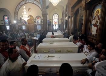 أقباط المنيا يحتجون على إشادة الكنيسة بالقيادات الأمنية