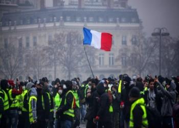 المواقف العربية من الاحتجاجات الفرنسية
