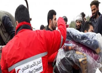 تدخل قطري سريع لإغاثة المتضررين السوريين من السيول