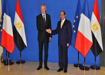 السيسي يلتقي وزير مالية فرنسا استعدادا لزيارة ماكرون