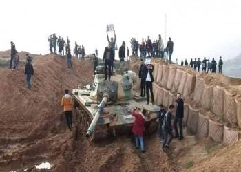 محتجون يقتحمون معسكرا للجيش التركي شمالي العراق