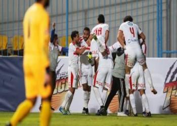 الزمالك يواصل التربع على الدوري المصري بفوز على المقاصة
