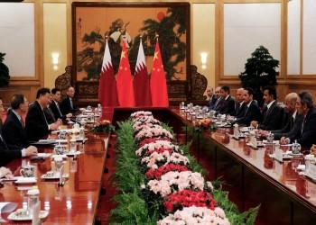 أمير قطر يوقع اتفاقيات تعاون مع الرئيس الصيني