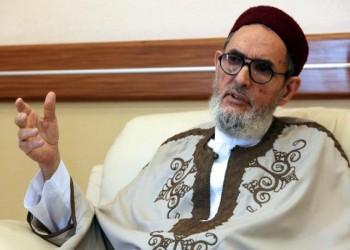 مفتي ليبيا يطالب بمواجهة حفتر بالسلاح وإفشال مخططاته