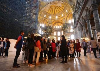 %5.33 زيادة في أعداد السياح بتركيا خلال يناير 2019