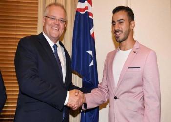 اللاجئ البحريني حكيم العريبي يحصل على الجنسية الأسترالية