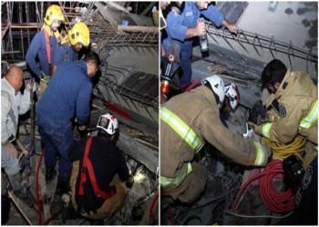 3 قتلى ومصابان اثنان في انهيار مسجد قيد الإنشاء بالكويت