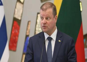 رئيس وزراء ليتوانيا يتعهد بنقل السفارة للقدس إذا فاز بالرئاسة
