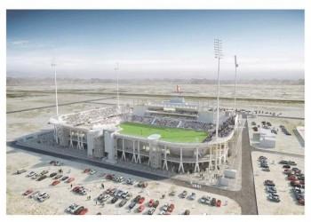 الوكرة يشهد أسرع عملية فرش ملعب كرة في العالم