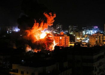 قصف غزة وحدودها يتواصل رغم الإعلان عن وقف إطلاق النار