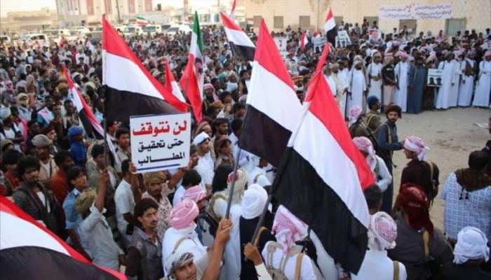 مظاهرات بالمهرة اليمنية تطالب برحيل القوات السعودية