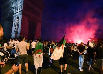 مشجعون جزائريون يشتبكون مع الشرطة الفرنسية عقب مباراة نيجيريا