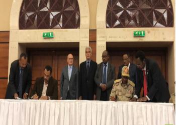 العسكري السوداني وقوى التغيير يوقعان على الاتفاق السياسي