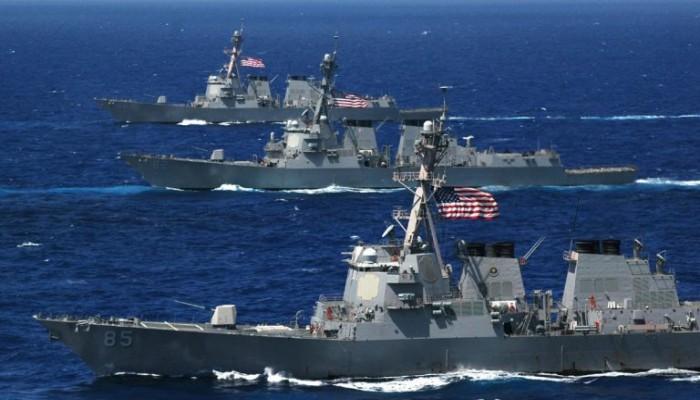 الأسطول الخامس يبدأ البحث عن بحار أمريكي مفقود ببحر العرب
