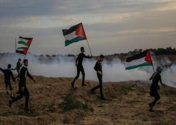 إصابة 97 فلسطينيا في قمع إسرائيلي لمسيرة العودة بغزة