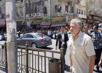 ملك الأردن يختصر إجازته ويتوجه للمسجد الحسيني فور عودته
