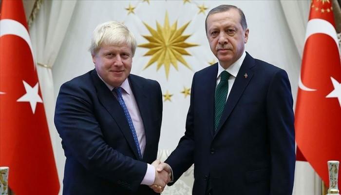 أردوغان يُهنئ جونسون التركي الأصل على رئاسة وزراء بريطانيا