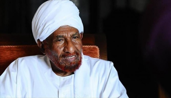 السودان.. الصادق المهدي يشيد بتأييد قوات الدعم السريع للثورة