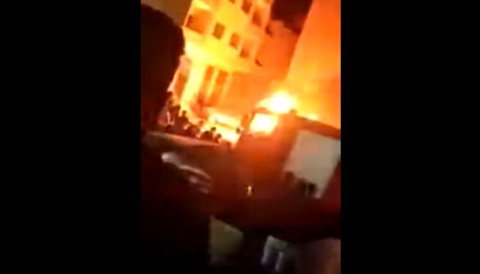 مصر.. حريق جديد يلتهم كنيسة أرثوذكسية خلال شهر (فيديو)
