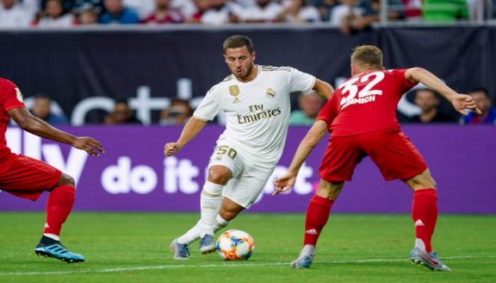 مستوى هازارد يثير قلق جماهير ريال مدريد
