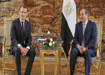 بعد يومين من استقباله حفتر.. السيسي يؤكد لماكرون دعم ليبيا