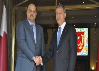 وزيرا دفاع قطر وتركيا يبحثان عدد من القضايا الإقليمية