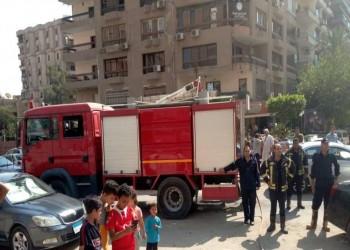 مصر.. انفجار يعقبه حريق هائل في مدينة نصر بالقاهرة