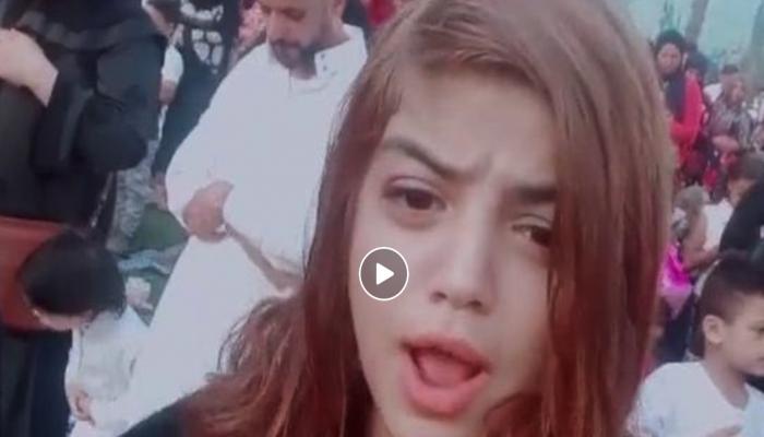 شاهد.. فتاة مصرية تثير جدلا بفيديو خلال صلاة العيد