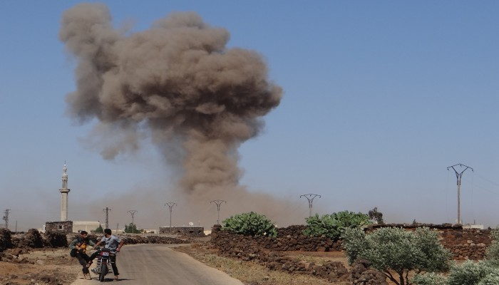 المعارضة السورية تعلن إسقاط طائرة للنظام وأسر قائديها