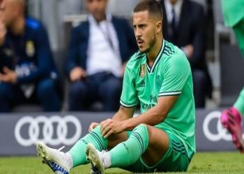 تعرف على مدة غياب هازارد عن ريال مدريد بسبب الإصابة