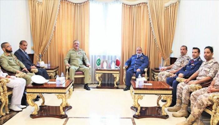 مباحثات قطرية باكستانية لتعزيز العلاقات العسكرية
