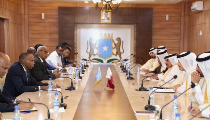 رئيس الصومال يشكر قطر لإسهامها ببناء البنية التحتية لبلاده