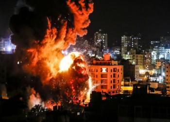 إسرائيل تقصف مواقع لحماس شمالي غزة