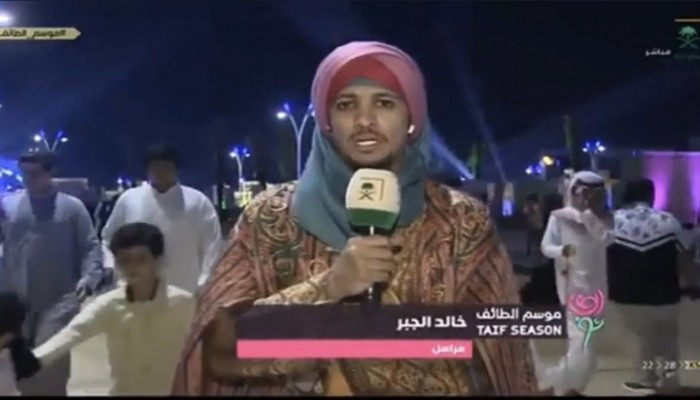 جدل على تويتر بسبب مذيع سعودي