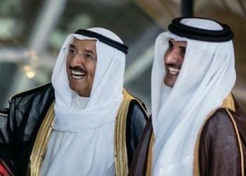 أمير قطر يهاتف نظيره الكويتي للاطمئنان على صحته