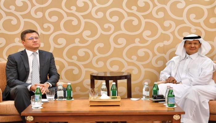 مباحاثات نفطية بين وزير الطاقة السعودي الجديد ونظيره الروسي
