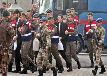 توقيف 223 عسكريا تركيا على خلفية محاولة انقلاب 2016