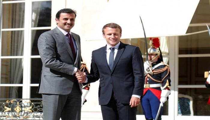 أمير قطر يلتقي ماكرون الخميس المقبل في باريس