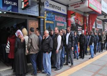 تركيا.. ارتفاع نسبة البطالة في يونيو إلى 13%