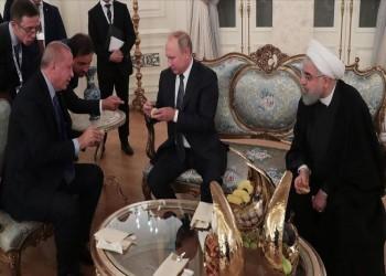 """أردوغان يقدم """"التين"""" التركي لضيفيه بوتين وروحاني"""