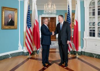 ولي عهد البحرين يلتقي بومبيو وإسبر بواشنطن.. وإيران تتصدر المباحثات