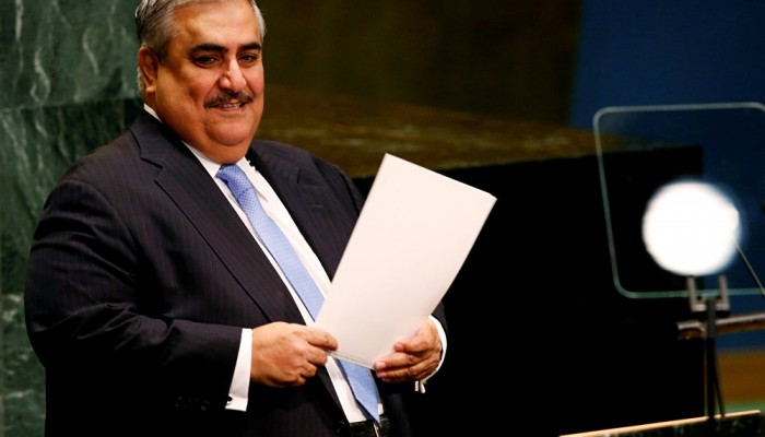 وزير الخارجية البحريني يهاجم قطر مجددا.. ويتحدث عن ورشة المنامة
