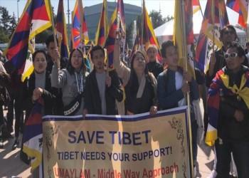 ضد سياسات الصين.. أويغور وتبتيون يتظاهرون في جنيف