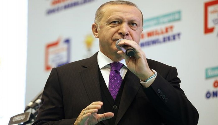 أردوغان: لن نتجاهل دعم أمريكا للمسلحين الأكراد