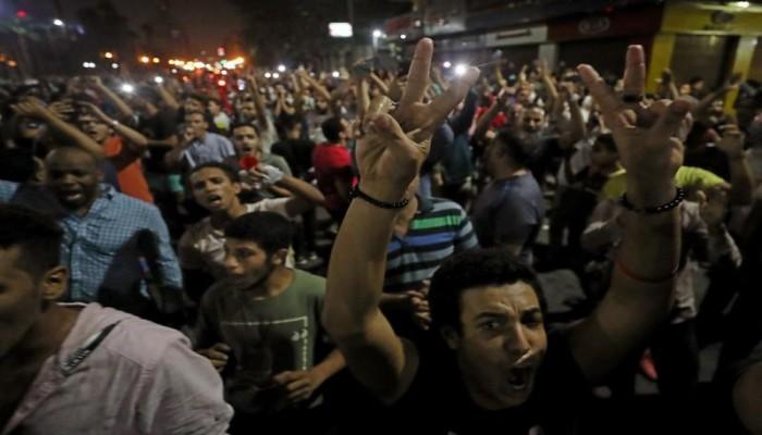 لليوم الثاني.. تجدد المظاهرات المطالبة برحيل السيسي