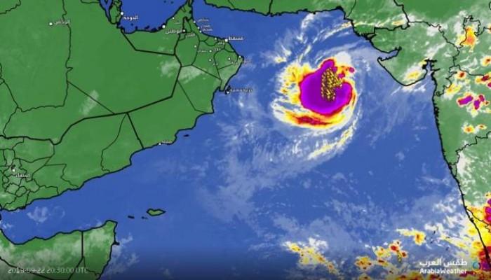 هيكا تتحول رسميا لإعصار في بحر العرب