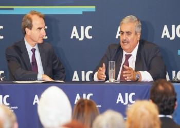 وزير الخارجية البحريني يلتقي أعضاء اللجنة الأمريكية اليهودية بنيويورك