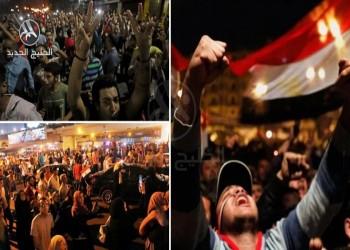 مظاهرات قرب القاهرة تطالب برحيل السيسي