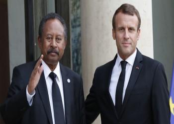 ماكرون: سنواصل دعوة واشنطن لرفع السودان من قائمة الإرهاب